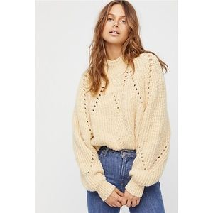 NWOT Free People Timbers Sweater XS